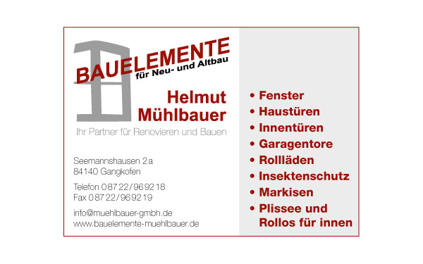 Mühlbauer Helmut GmbH