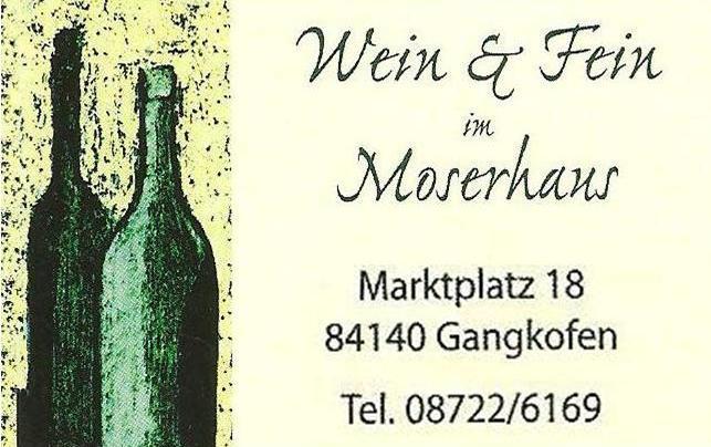 Wein & Fein im Moserhaus